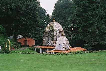Shiva temple at Hartola